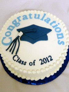 target graduation cake