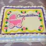 towards the end of costco baby shower cakes