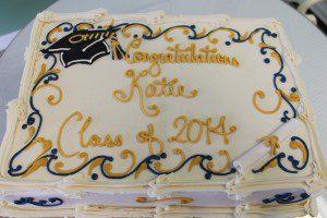 kroger graduation cake