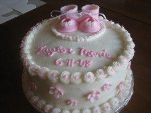 walmart baby shower cake