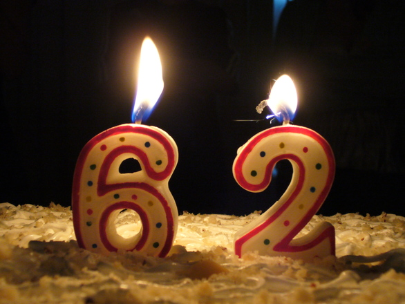 Поздравления с днём рождения с 62 летием