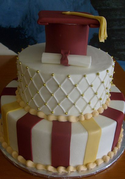 H E B Graduation Cake