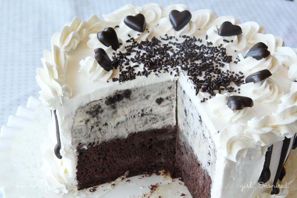 Ibaco Ice Cream Cake For Birthday