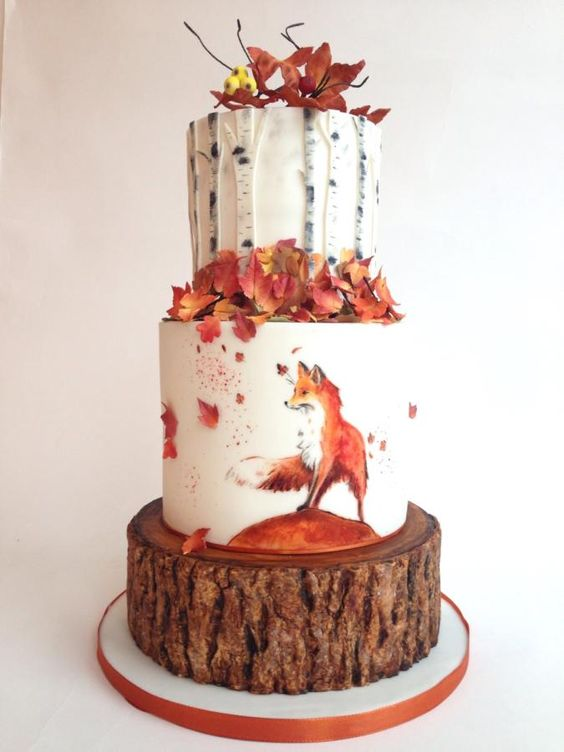 5 Must See Fall Birthday Cakes For You To Recreate