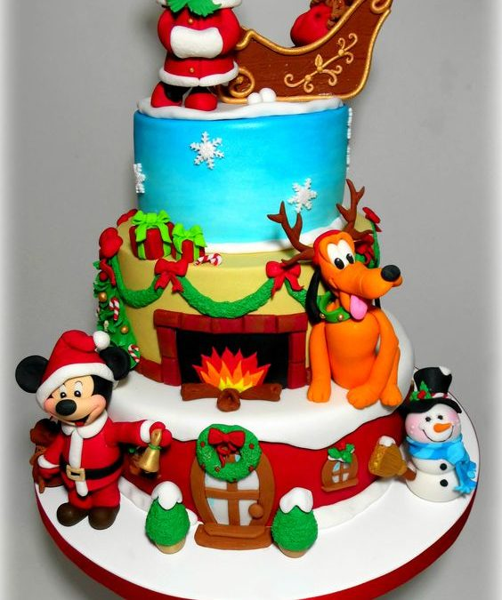 Bake Your Way To Holiday Bliss With Adorable Disney World Christmas Cakes Like These