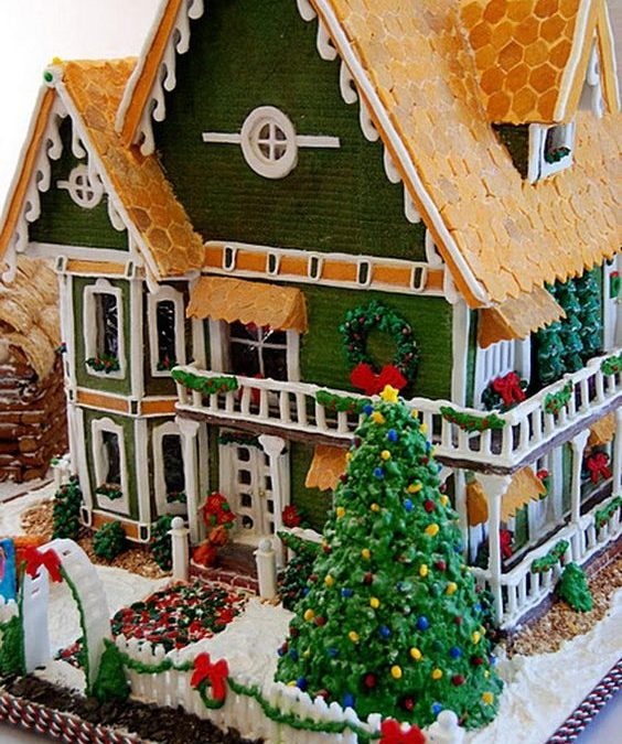 Discover The Secret To Designing Unbelievable Gingerbread Houses