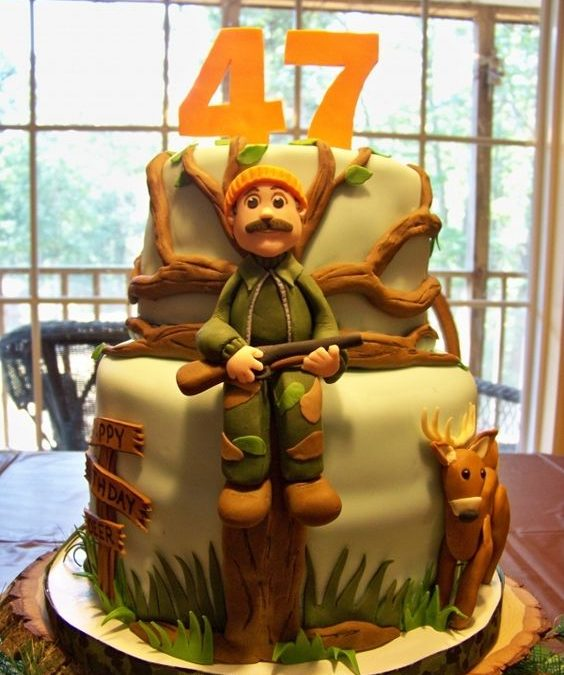 Make The Hunter In Your Life Smile This Month With Breathtaking Hunting Cakes!
