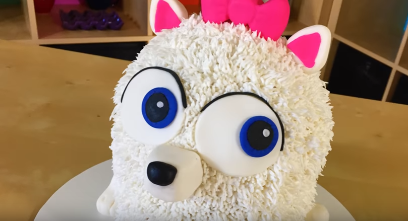 Create Your Own Adorable Gidget Secret Life Of Pets Cake