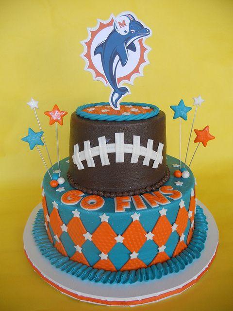 Giants Football Birthday Cake