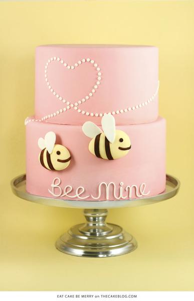 bee mine cake