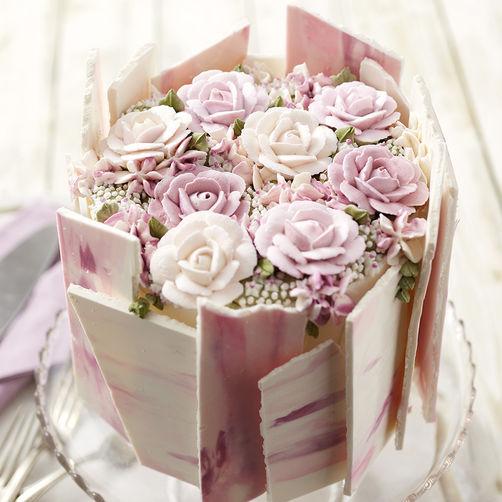 Dazzling Roses Cake