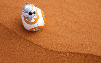 The Force Is Strong With The BB8 Cake