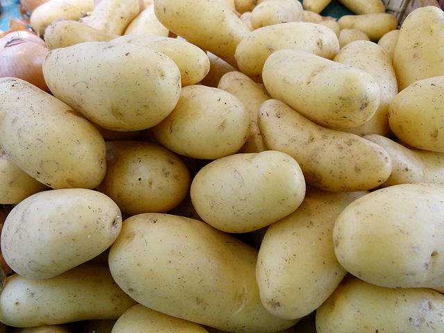 types of flour -- potato