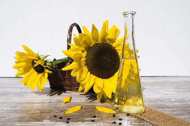 types of oil-sunflower seed oil