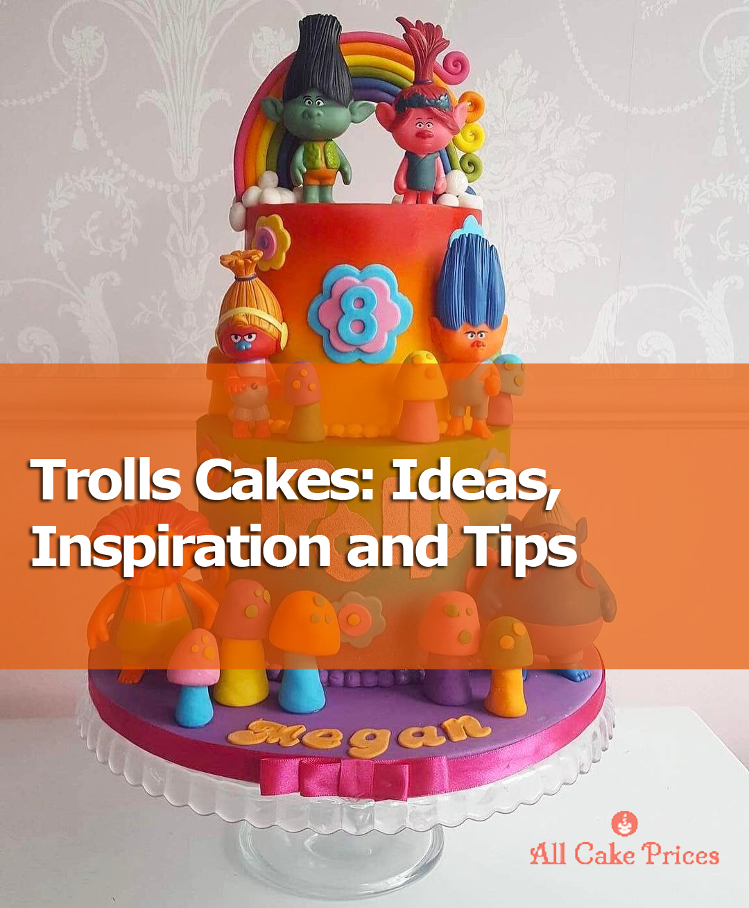 Awesome How To Make A Trolls Cake Ideas Inspiration And Tips For Busy Personalised Birthday Cards Veneteletsinfo