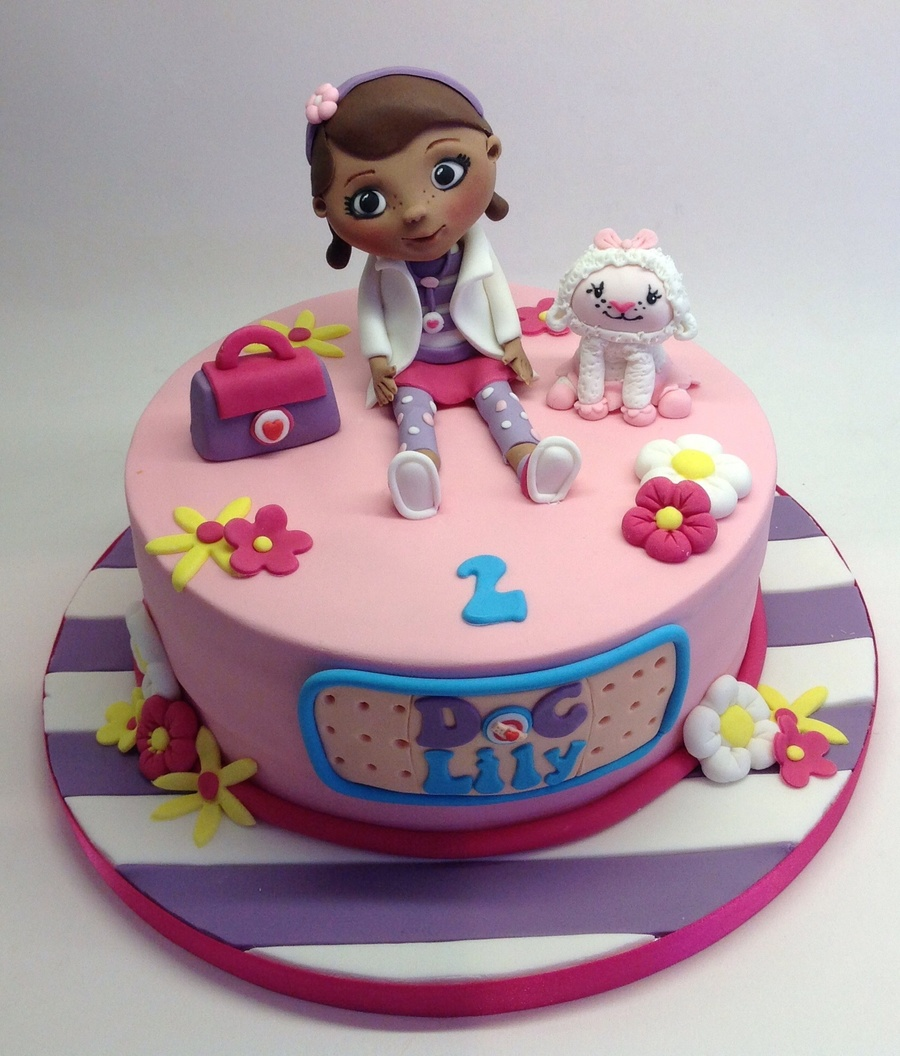 Stupendous Doc Mcstuffins Cake Unique Tips Ideas And Inspiration Themed Cakes Funny Birthday Cards Online Elaedamsfinfo