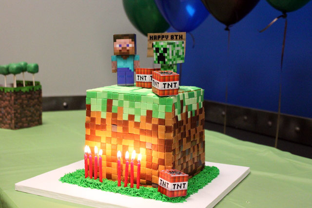 5 Minecraft cake ideas to inspire you