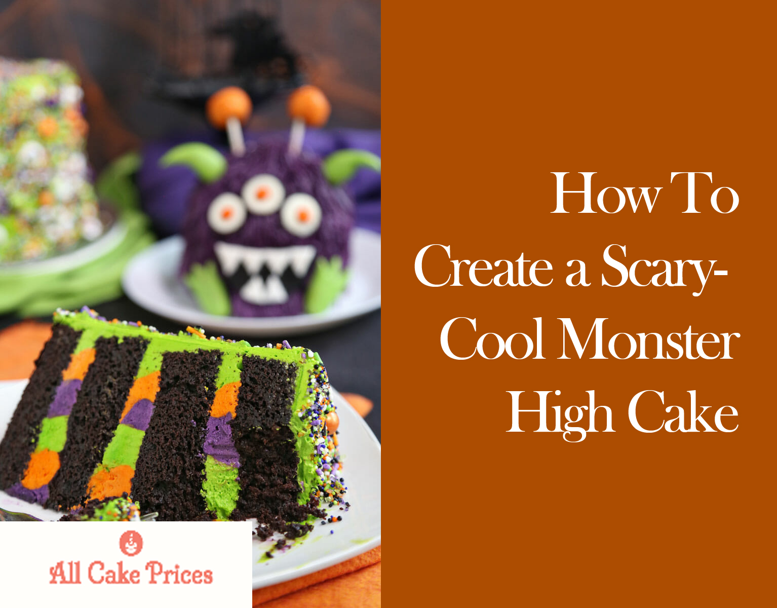 How To Create a Scary-Cool Monster High Cake