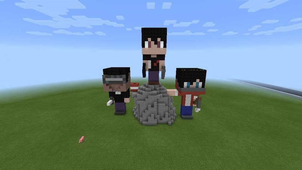 Miniature Minecraft Friends