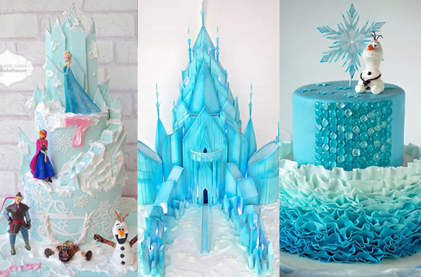 3 frozen cake design