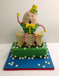 Nursery Rhyme-Themed Cake